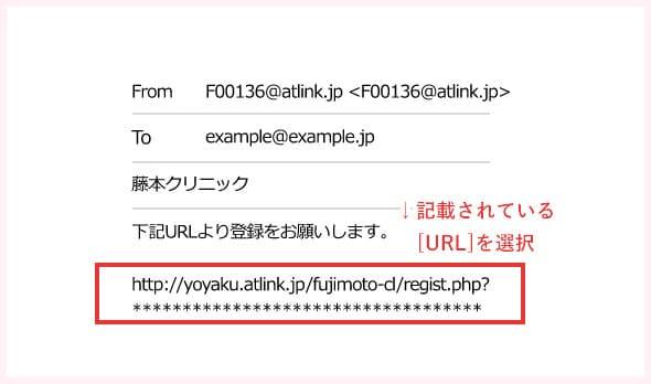 Step05. 返信のURLを選択